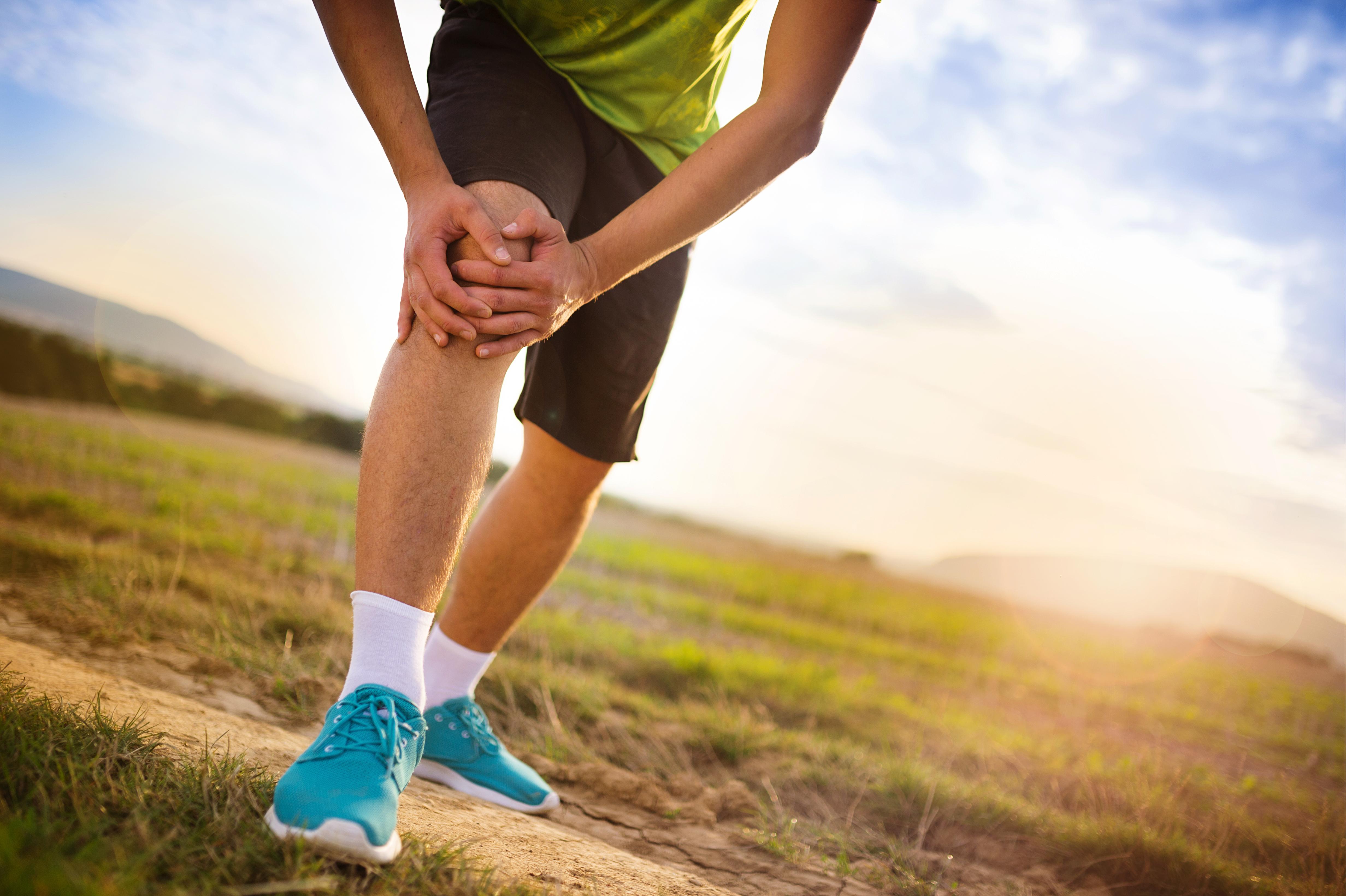 One Running Training Injury